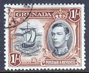 Grenada - Scott #139a - Used - Pulled perfs, pencil on reverse - SCV $1.50