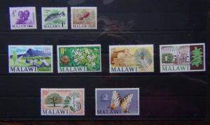 Malawi 1966 - 1967 values to £2 MNH Cat £55+