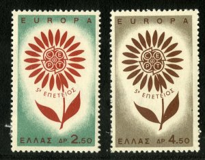 GREECE 801-2 MH SCV $4.15  BIN $1.90 EUROPA