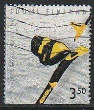 1999 Finland - Sc 1116f - used VF - 1 single - ski pole