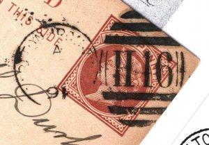 GB Card County Durham *IRON WORKS CARLTON* Duplex Relevant Card 1891 60.11