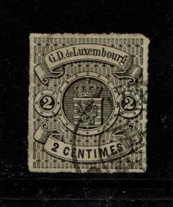 Luxembourg SC# 14, Used - S4038