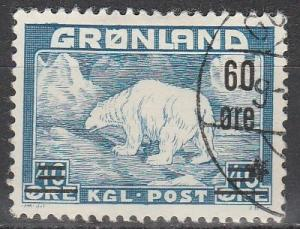 Greenland #39 F-VF Used  (S2453)