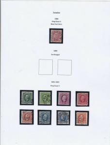 Sweden Stamps Ref 15019