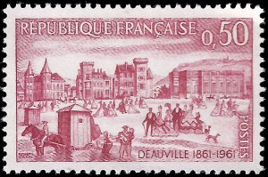 France 1961 Sc 996 MNH Deauville