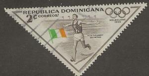 DOMINICAN REPUBLIC SC # 487  USED