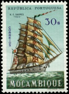 Mozambique Scott #454 Mint Hinged