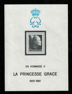 Monaco, MNH**, 1983 Princesse Grace Commemoration, 1929-1982, MC #22 (2943-Т)