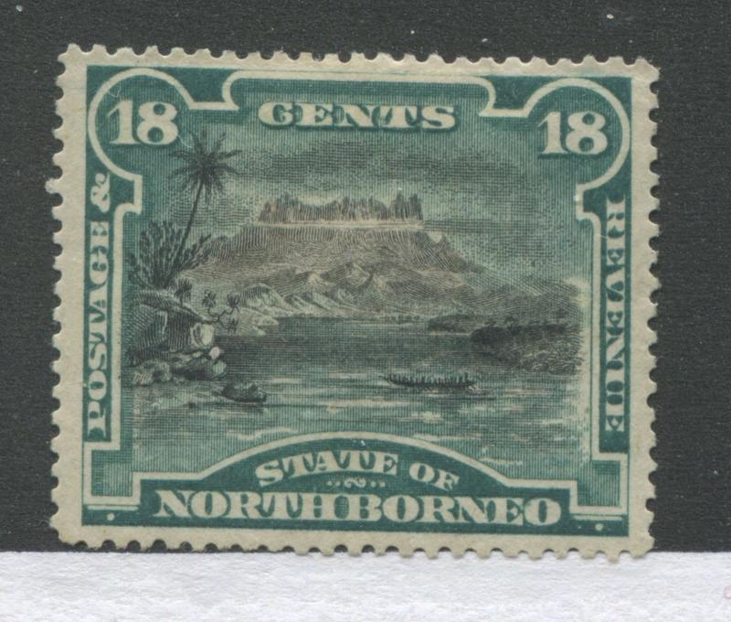 North Borneo 1894 18 cents mint o.g.