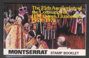 Montserrat #388b Complete Booklet F-VF Mint NH ** QE II Anniversary