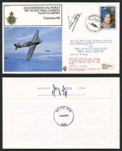 FF20c 40th Ann of the Worlds 1st Decisive Aerial Campaign Signed by D. Fopp (C)