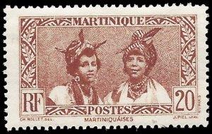 Martinique 1933 #140 Mint H