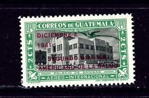 Guatemala C124 MNH 1941 overprint