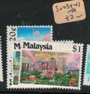 Malaysia SG 439-41 MNH (6eww)
