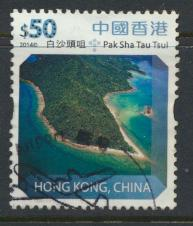 Hong Kong SG 1901   --  High value definitive $50  issued 2014