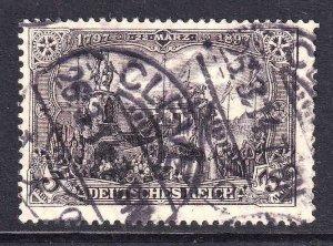 GERMANY 94c PERF HOLES 26:17 CDS F/VF SOUND $450 SCV