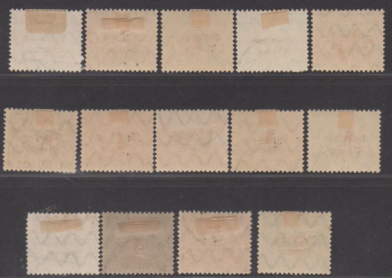 *German States Bavaria SC# O20-30 Used, FVF, Overprints