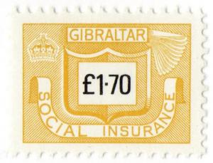 (I.B) Gibraltar Revenue : Social Insurance £1.70