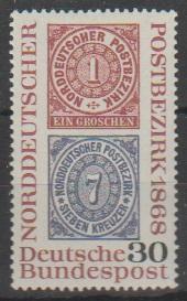 (DE 10267) Mi: 569  1968  U/m Cat €  0.30