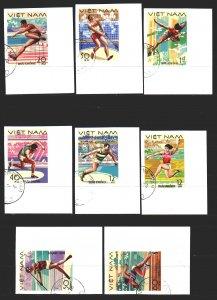 Vietnam. 1978. 961u-68u. Athletics, Sports. USED.