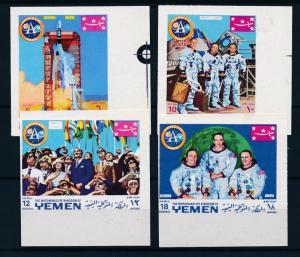 [60304] Yemen Kingdom 1969 Space travel Weltraum Astronauts Imperforated MNH