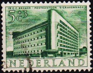 Netherlands. 1955 5c+3c. S.G.811 Fine Used