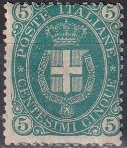 Italy #52   Unused Signed  CV $775.00  Z1078