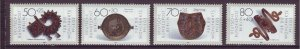 J24992 JLstamps 1987 germany berlin set mnh #9nb249-52 artifacts