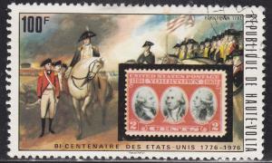 Burkina Faso 355 US 703 and Surrender at Yorktown 1976