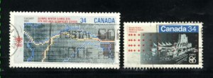 Can #1077-78  used VF 1986 PD
