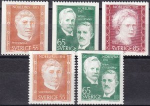Sweden #909-13  F-VF Unused CV $3.20  (Z6229)