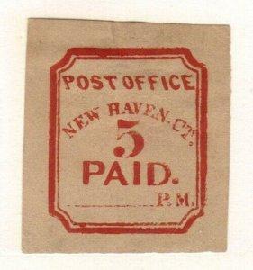Scott # 8XU1  post office New Haven Connecticut