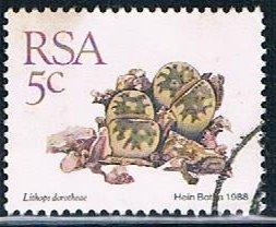 South Africa 737, 5c Succlents, used, VF