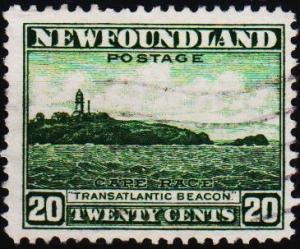 Newfoundland. 1932 20c  S.G.218 Fine Used