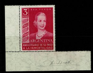 Argentina SC# 627, appears Never Hinged, back stamped, see notes - S9586