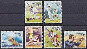 Guernsey 336-341 MNH (1986)