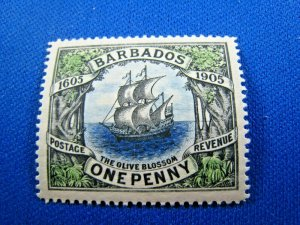BARBADOS  1906  -  SCOTT # 109   MLH