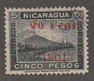 NICARAGUA #151 USED