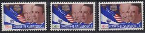 El Salvador C184-C186 MNH (1959)