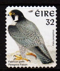Ireland -  #1054B Pergrine Falcon die Cut 11 x 11 1/4 - Used