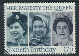 Great Britain SG 1317  Used QE II Birthday