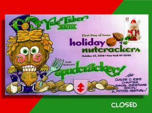 Nutcracker Pull-Tab FDC Features Only Known SPUDCRACKER!! Beware of Those Jaws!