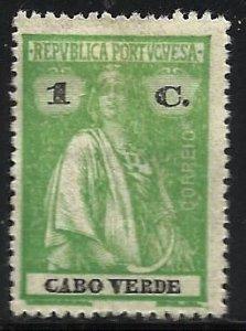 Cape Verde 1914 Scott# 146 MH