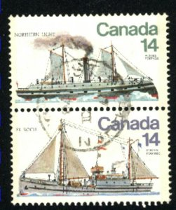 Can #777-78   pair  used VF 1978 PD