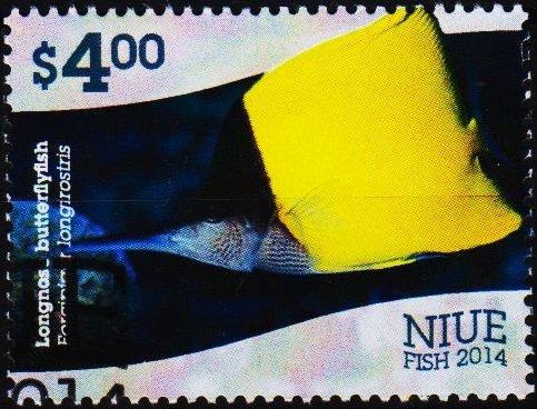 Niue. 2014 $4 Fine Used