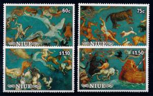 [65054] Niue 1986 Space Travel Weltraum Halley Comet  MNH