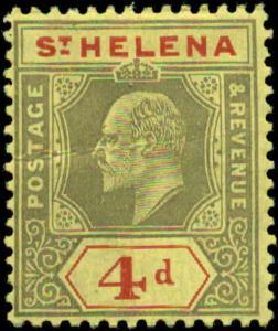 Saint Helena Scott #57a Mint  Chalky Paper