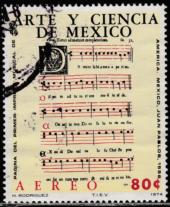 MEXICO C440, Art & Science (Series 4) Musicians. USED. F-VF. (1310)