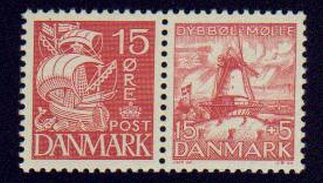 Denmark #192-B8  Mint NH  VF