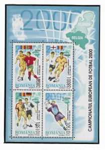 2000-Mi RO BL313-European Football Championship, Belgium and Netherlands